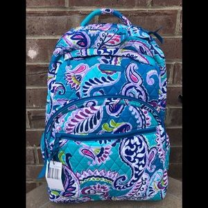 New Vera Bradley Backpack - Large - fits laptop